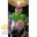 Оформление шарами в стиле Майн Крафт
