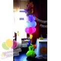 Оформление шарами в стиле Винни Пух