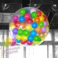 Шар-сюрприз с шариками и конфетти