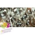 Оформление шарами на кристины