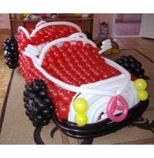 """Фигура """"Автомобиль"""" из воздушных шаров"""
