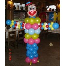 """Фигура """"Клоун"""" из воздушных шаров"""