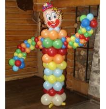 """Фигура """"Клоун"""" из воздушных шариков"""