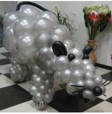 """Фигура """"Крыска"""" из воздушных шаров"""