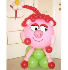 """Фигура """"Нюша"""" из воздушных шариков"""