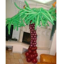 """Фигура """"Пальма тип №2"""" из воздушных шаров"""