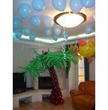 Фигуры из шаров + шарики под потолок