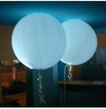 Большие светящиеся шары