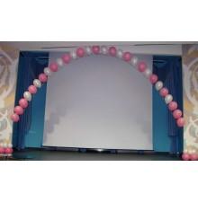 Гелиевая арка из шариков