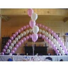 Гелиевые цепочки из шаров