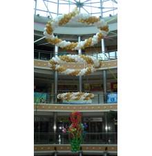 Тематическое украшение помещения шарами