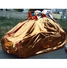 Полная упаковка машины фольгой и шарами