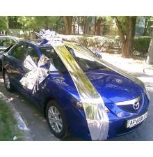 Упаковка автомобиля фольгой