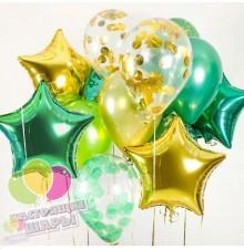 Букет шаров на 23 февраля №1