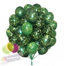 Букет шаров на 23 февраля № 6