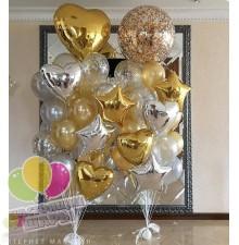 Фонтан из воздушных  шаров 1