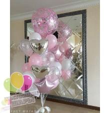 Фонтан из воздушных шаров 4