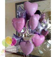 Фонтан из воздушных шаров 11