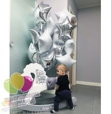 Фонтан из воздушных шаров 15