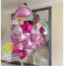 Фонтан из воздушных шаров 18