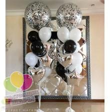 Фонтан из воздушных шаров 20