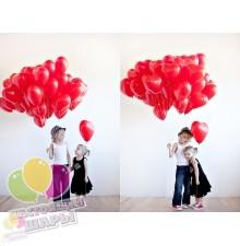 Фонтан из воздушных шаров 21