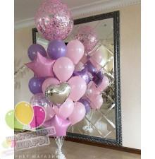 Фонтан из воздушных шаров 22