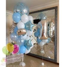 Фонтан из воздушных шаров 23
