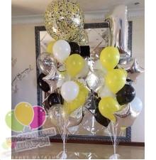 Фонтан из воздушных шаров 28