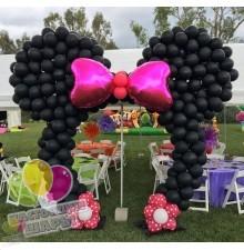 Арка из воздушных шаров в стиле Микки Маус