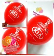 Печать на воздушных шарах 100шт 1+0