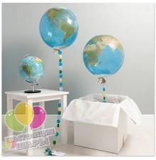 Воздушный шар в виде Планеты Земля