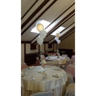 Пучки из шаров на столы