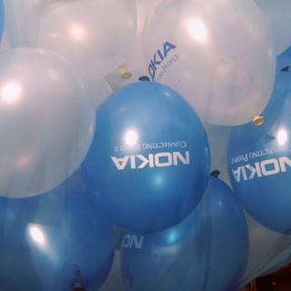 Рекламная печать на шарах