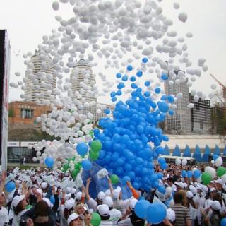 Запуск шаров из сети