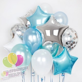 Букет из воздушных шаров 3