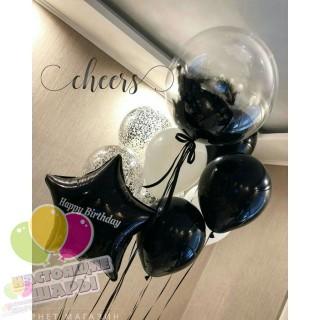 Букет из воздушных шаров 8