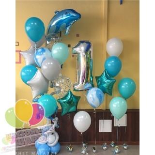 Гелиевые шарики для украшения Дня Рождения