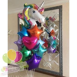 Фонтан из воздушных шаров 6