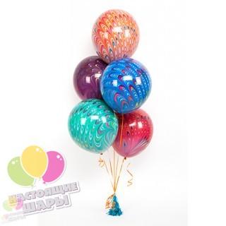Воздушные шары павлины