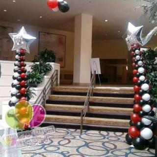 Новогодние ёлки из шаров