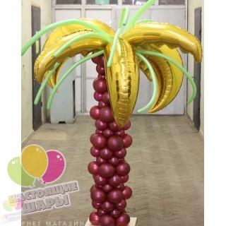 Пальма из воздушных шаров 1