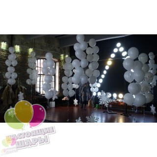 Пучки на свадьбу из шаров