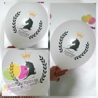 Печать на воздушных шарах 2+0 100шт